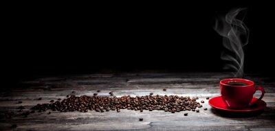 Fototapet kaffee Hintergrund