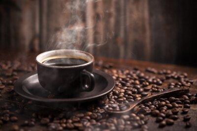 Fototapet Kaffekopp