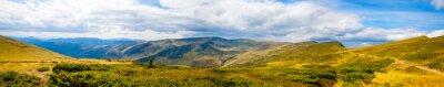 Fototapet Karpaterna panorama