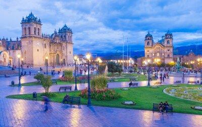 Fototapet Katedralen i Cusco, Peru