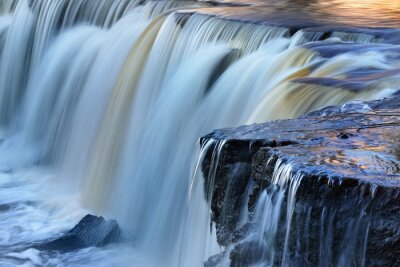Fototapet Keila vattenfall i Estland