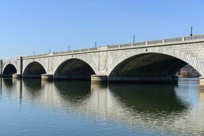 Fototapet Key Bridge i Washington DC