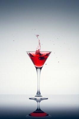 Fototapet klassisk modern cocktail