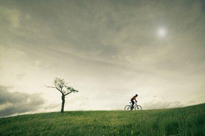 Fototapet konceptet vélo