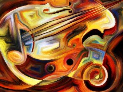 Fototapet konceptuell Music