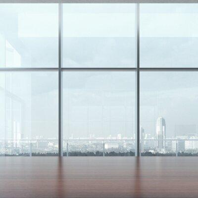Fototapet Kontor bord och fönster