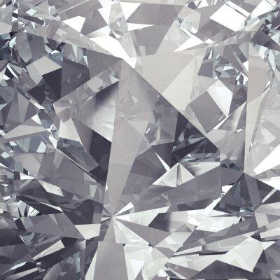 Fototapet kristall fasett bakgrund