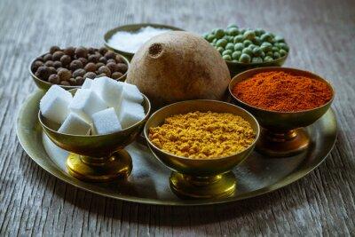 Fototapet kryddor