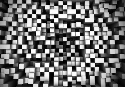 Fototapet kub extrudering