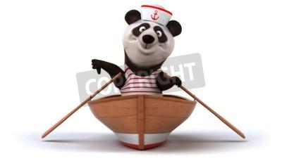 Fototapet kul panda