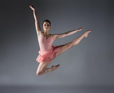 Fototapet Kvinna balettdansös