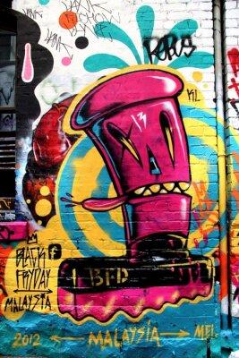 Fototapet LA Street, Melbourne