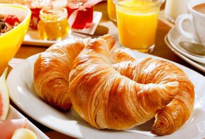 Fototapet Läcker kontinental frukost