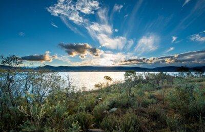 Fototapet Lake Jindabyne i NSW.
