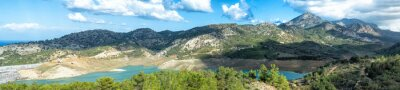 Fototapet Lakeside panorama