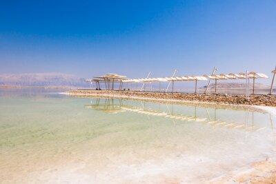 Fototapet Landskap Dead Sea kust