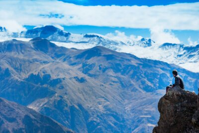 Fototapet landskap Peru