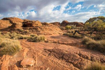 Fototapet Landskapet i Kings Canyon i Northern Territory, Australien.