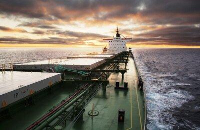 Fototapet Lastfartyg pågår