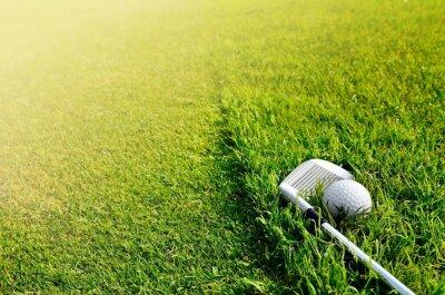 Fototapet Let golf