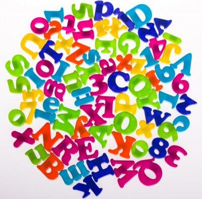 Fototapet Letters