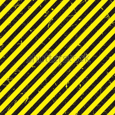 Fototapet linje gul och svart färg med konsistens.
