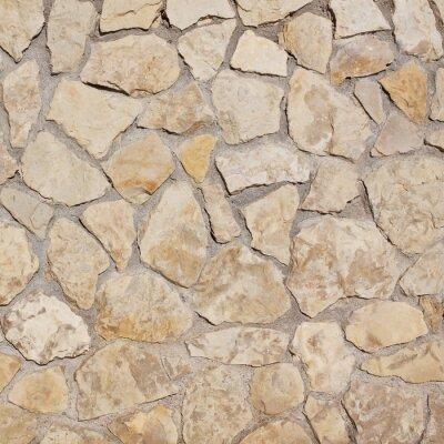 Fototapet ljus gammal stenmur bakgrund