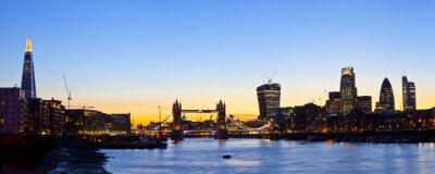 Fototapet London Skyline Panorama