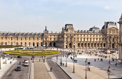 Fototapet Louvren i Paris
