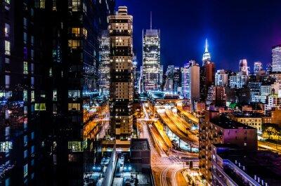 Fototapet Luces de Nueva York
