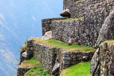 Fototapet Machu Picchu, de gamla murarna