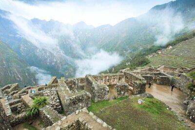 Fototapet Machu Picchu, en Unescos världsarvslista