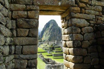 Fototapet Machu Picchu - Peru