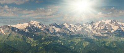 Fototapet Majestätiska berg