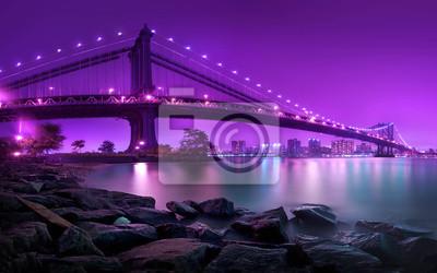 Fototapet Manhattan Bridge New York