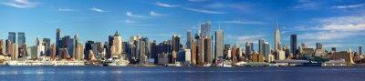 Fototapet Manhattan horisont panorama, New York