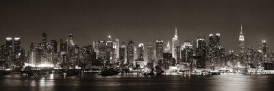 Fototapet Midtown Manhattan skyline