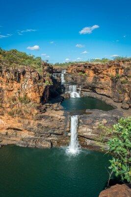 Fototapet Mitchell Falls, Mitchell River, Kimberley, Western Australia