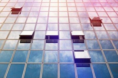 Fototapet Moden Business Office Building Windows