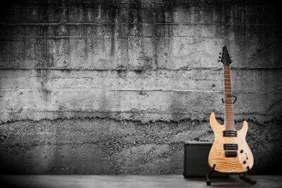 Fototapet Modern elgitarr