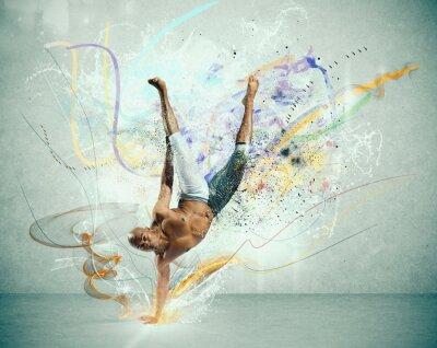 Fototapet moderna dansare