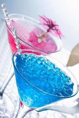 Fototapet Molekylär mixology - Cocktail med kaviar