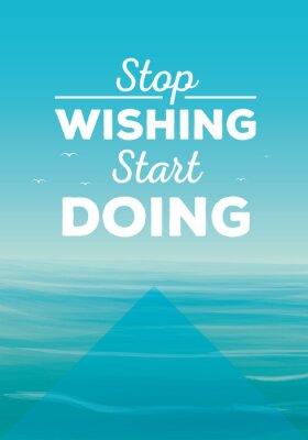 Fototapet motivation quote