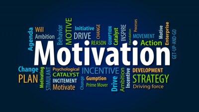Fototapet Motivering
