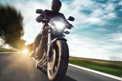Fototapet Motorcykel