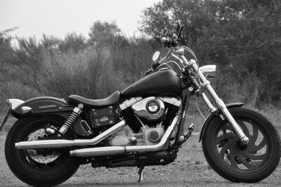 Fototapet Motorcykel - Chopper