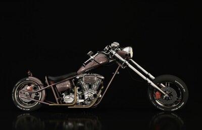 Fototapet motorcykelmodell