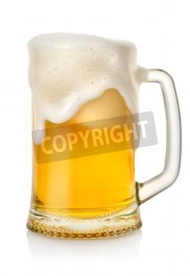 Fototapet Mugg med öl