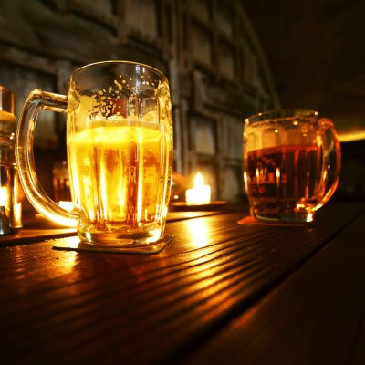 Fototapet Muggar öl