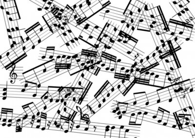 Fototapet musik